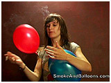 cigarette and balloons