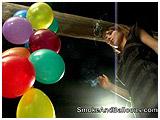 Melissa cig pops small balloons