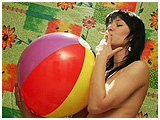 cigarette and beachball