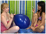 Video clip of Kitty showing Xev the smoking ropes