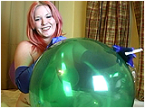 Video clip for sale of Xev smoking while playing with balloons