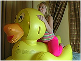 inflatable duckie