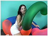 big inflatable toy
