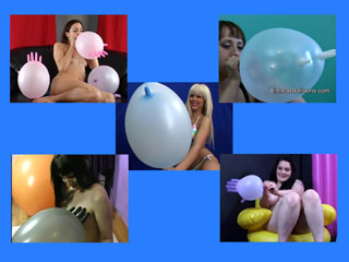 Latex Glove Love Balloon Fetish Video
