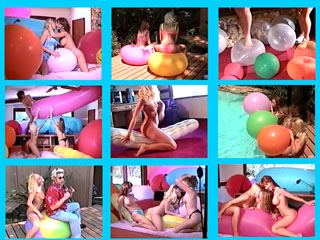 Balloon Fetish  Video