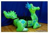 vinyl inflatable dragon