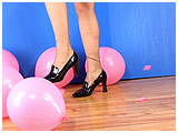 Video clip for sale of Arielle foot popping in heels