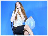 Video clip for sale of Arielle smoking with her balloon