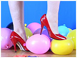 Video clip for sale of Debby foot-popping in heels