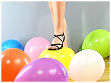Video clip for sale of Malacia foot-popping balloons