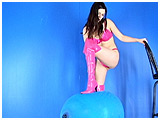 Video clip for sale of Alexxia foot-popping balloons
