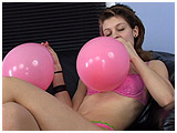 Video clip for sale of Heidi's first blow to burst