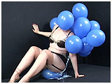 Video clip for sale of Redd bouncing balloons